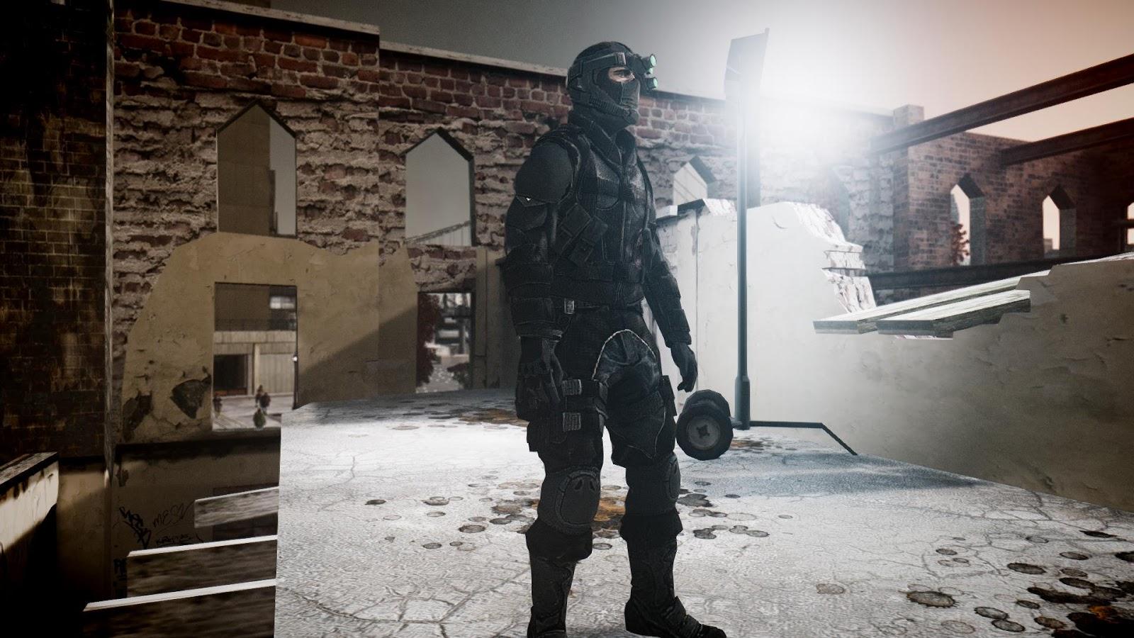 GTA 5,GTAV,GTA IV Mods and Skins: GTA IV MOD :Splinter Cell