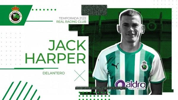 Oficial: Racing de Santander, firma cedido Jack Harper