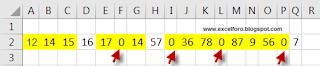 Trabajar con rangos discontinuos en Excel