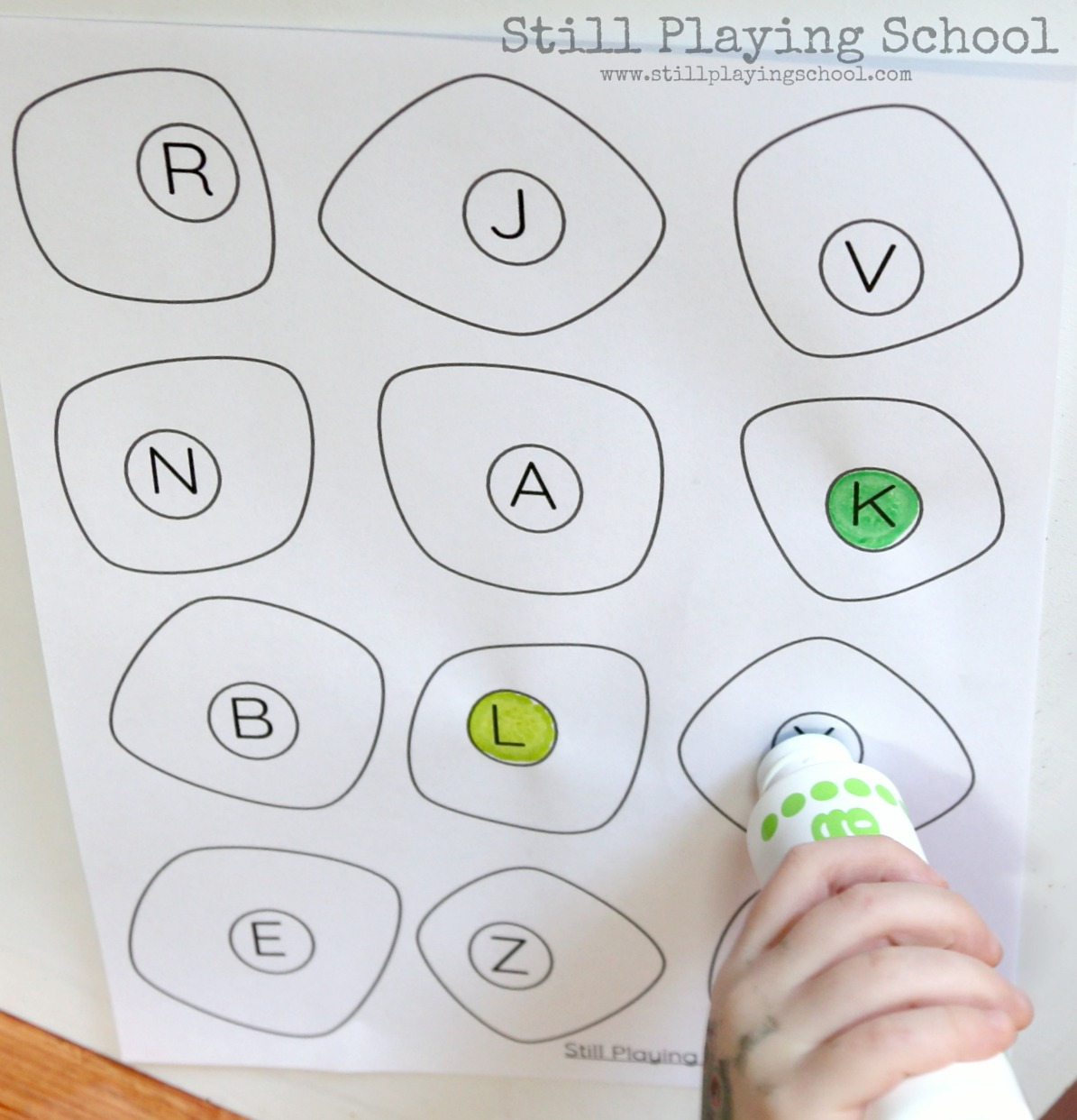 Green Eggs And Ham Letter Recognition