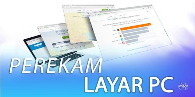 Aplikasi Perekam layar PC yang Ringan