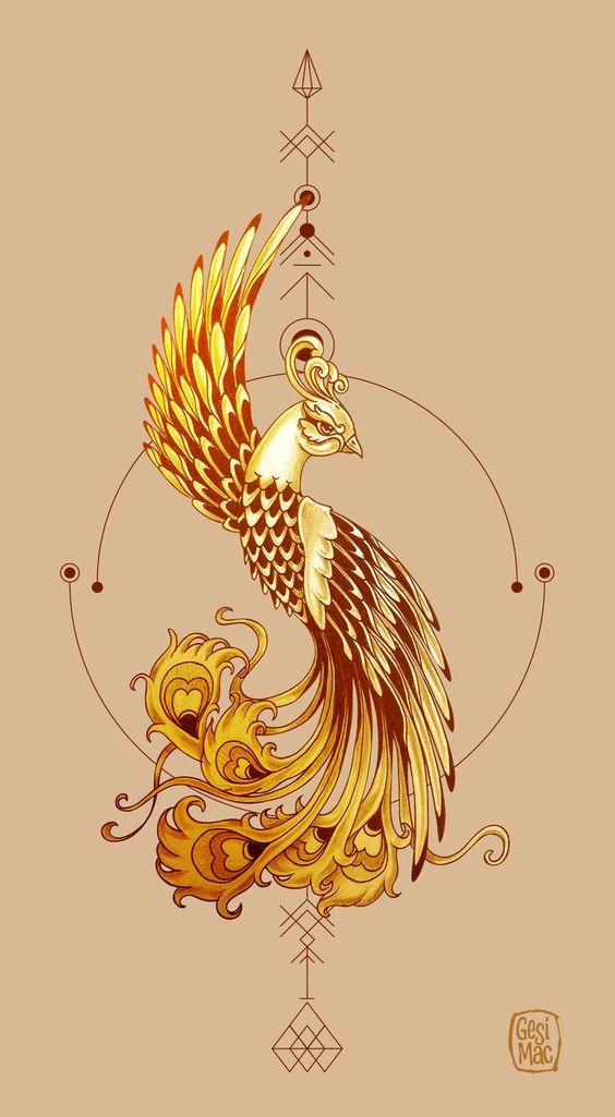 40 Amazing Phoenix Tattoos and Meanings