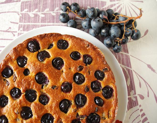 Gâteau ricotta raisin