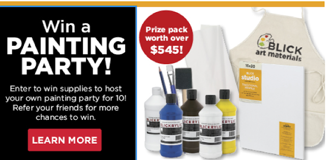 Win a Painting Party from Dick Blick!