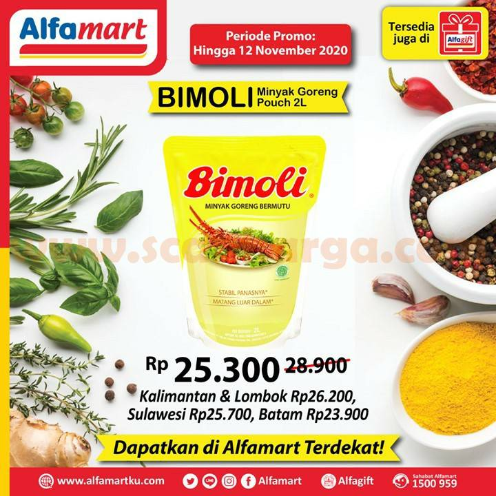 ALFAMART Promo Minyak Goreng Bimoli Harga Hemat Spesial