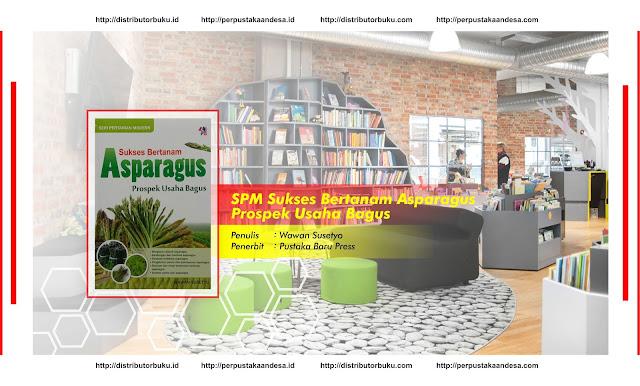 SPM : Sukses Bertanam Asparagus, Prospek Usaha Bagus
