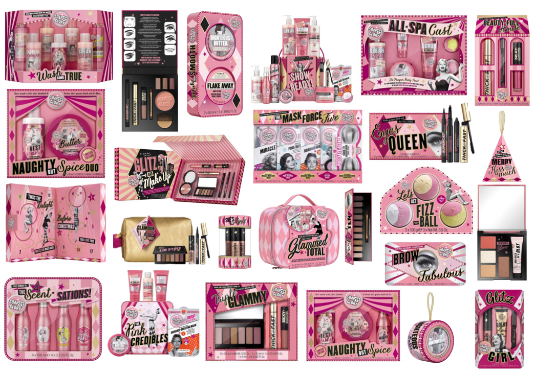 Soap & Glory Christmas Gift Sets 2018 (+ Advent Calendar)