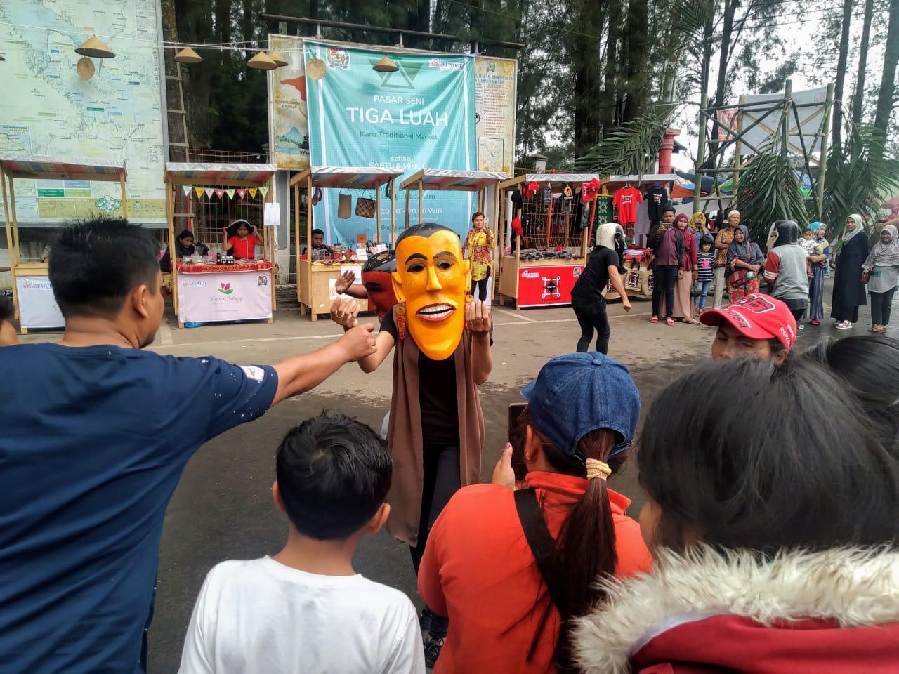 """""""Pasar Seni Tiga Luah"""" Konten Wisata Baru di Kota Berastagi"""
