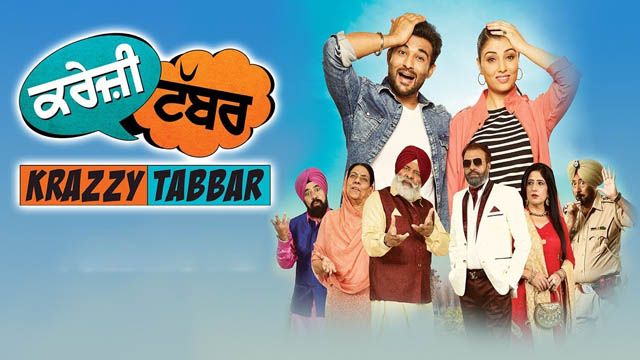 Krazzy Tabbar (2017) Punjabi Movie 720p BluRay Download
