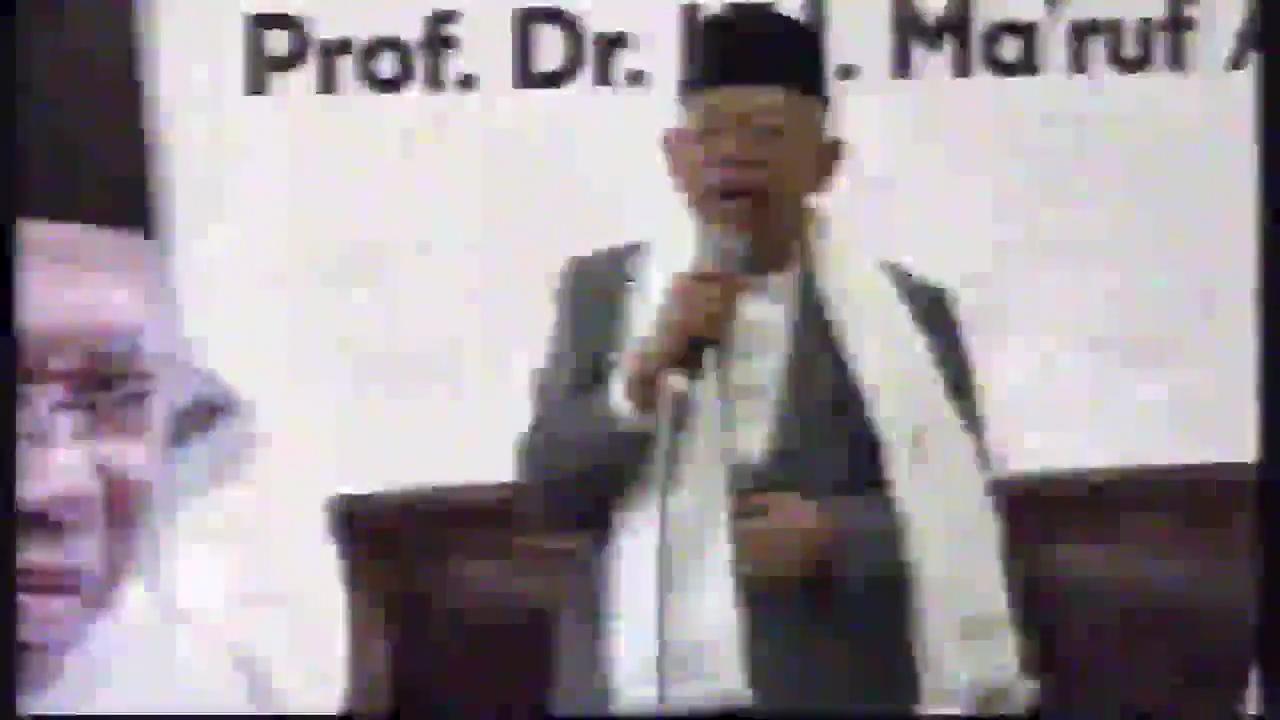 Heboh Pernyataan KH Ma'ruf Amin Soal Jokowi Mati Duluan