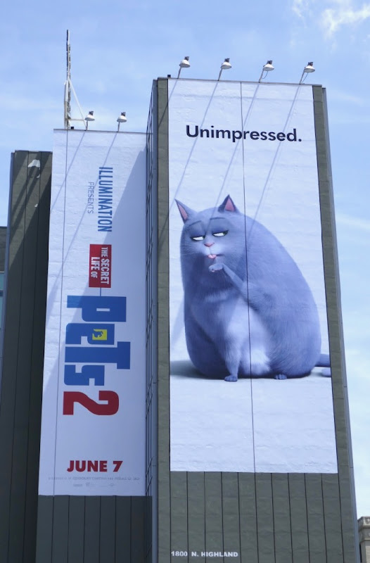 Secret Life Pets 2 cat billboard