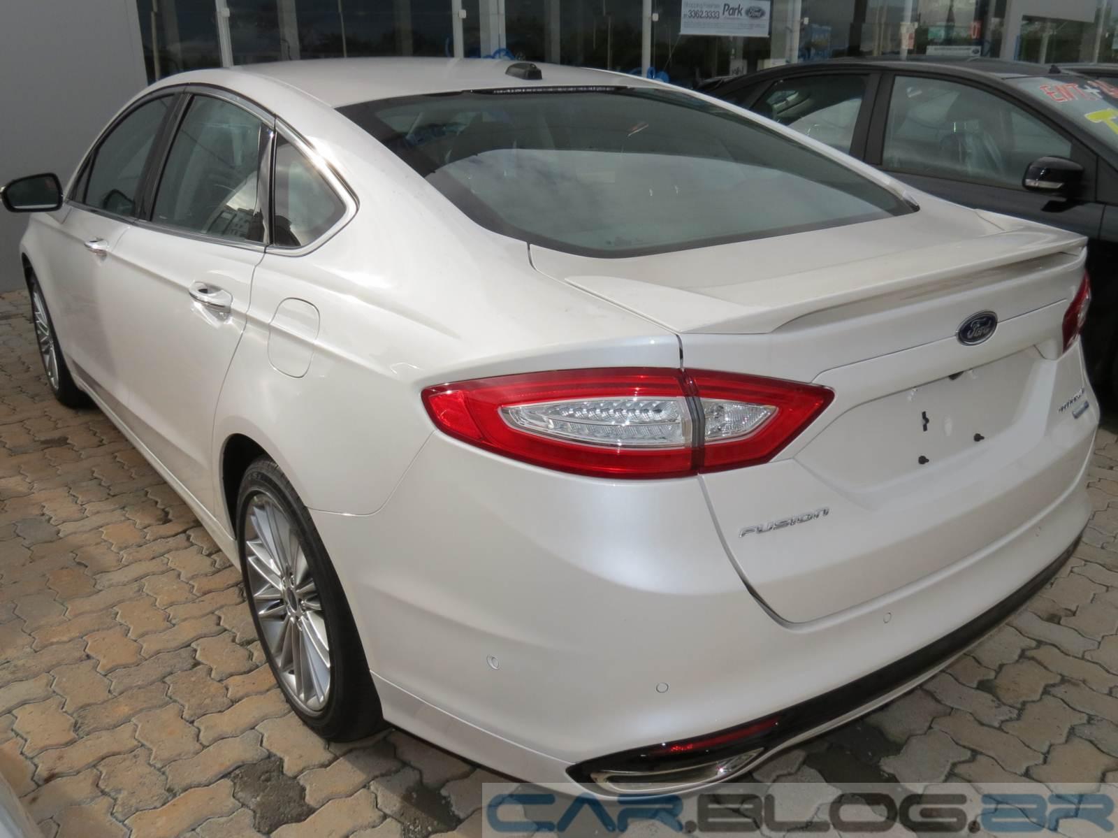 Ford Fusion 2013 Titanium Tem Queda De on Modelo Do Sistema Solar