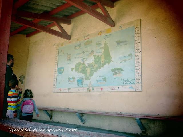 mappa isola porquerolles