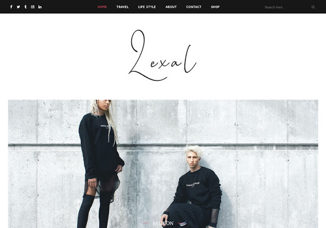 Lexel Blogger Template