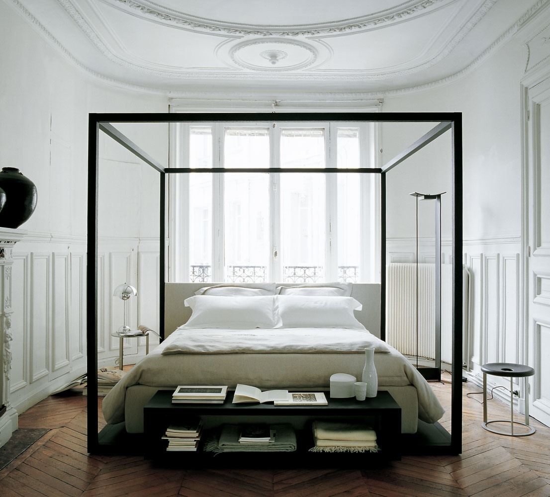 Contemporary Home Style By B B Italia: Feathered Nest: Four Poster