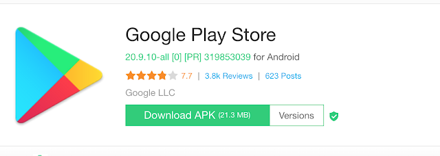 Google Playstore Manual di Xiaomi