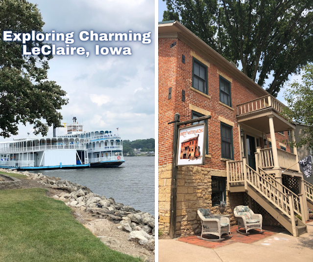 A Day in Le Claire, Iowa Splendoring in History, River Views and a Jubilant Downtown