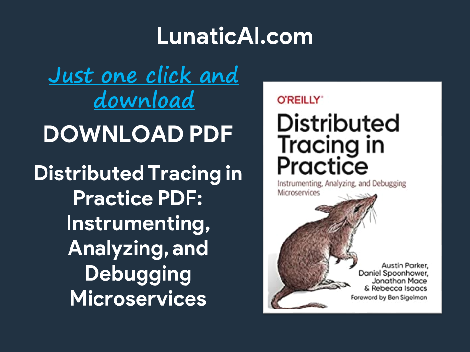 distributed tracing in practice pdf github