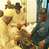 Jonathan, Obasanjo in closed door meeting in Ogun