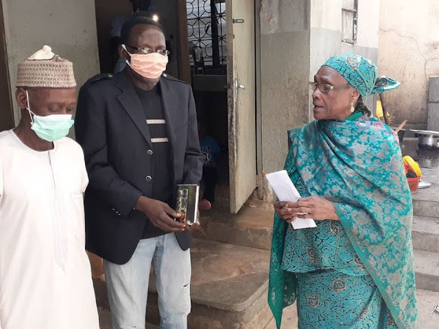 Sports Minister Sunday Dare gives N50,000 palliative to Mother of late Flying Eagles skipper, Ali Jeje