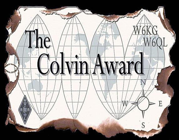 Colvin Award para 3Y0J, Bouvet Dxpedition