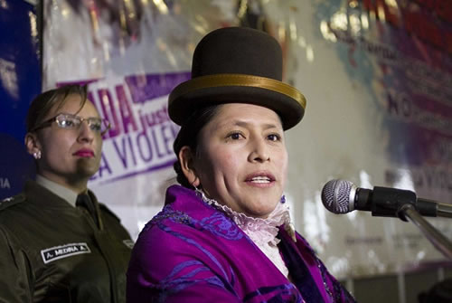 Virginia Velasco Ministra de Justicia