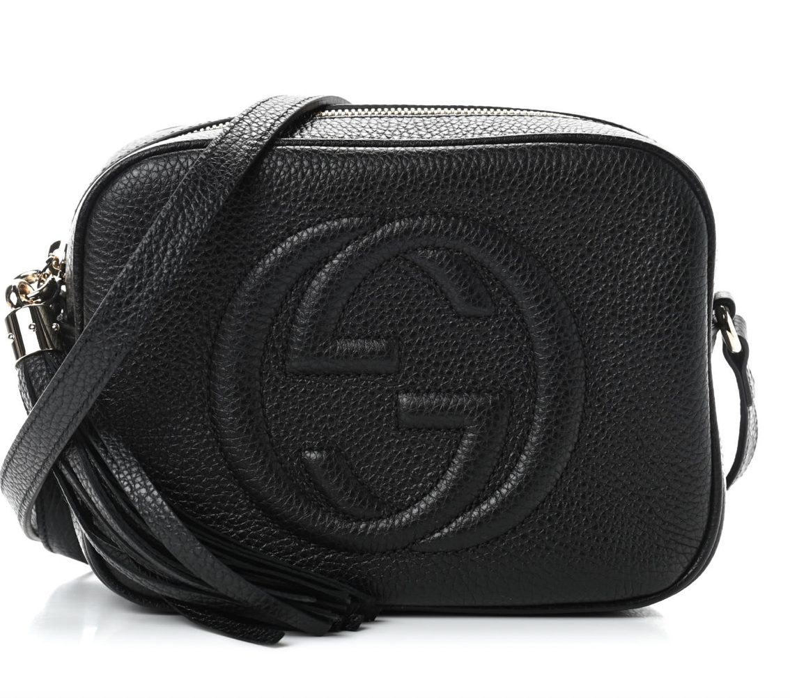 Gucci Pebble Calfskin Soho Disco Bag