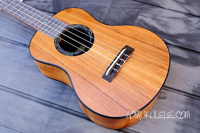 Kumu 4 string tenor ukulele body