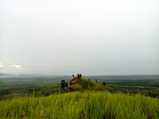 Bukit Liteng Desa Nibung