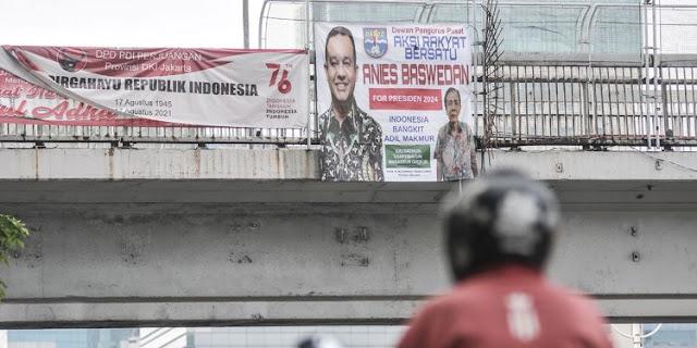 "PKS Ungkap Tujuan Terselubung Spanduk ""Anies for Presiden 2024"""