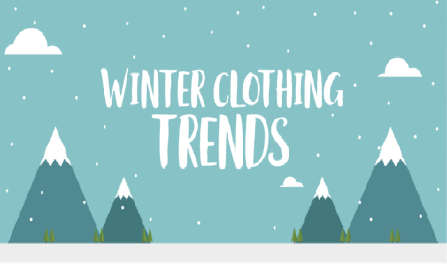 Winter Clothing Trends #infographic