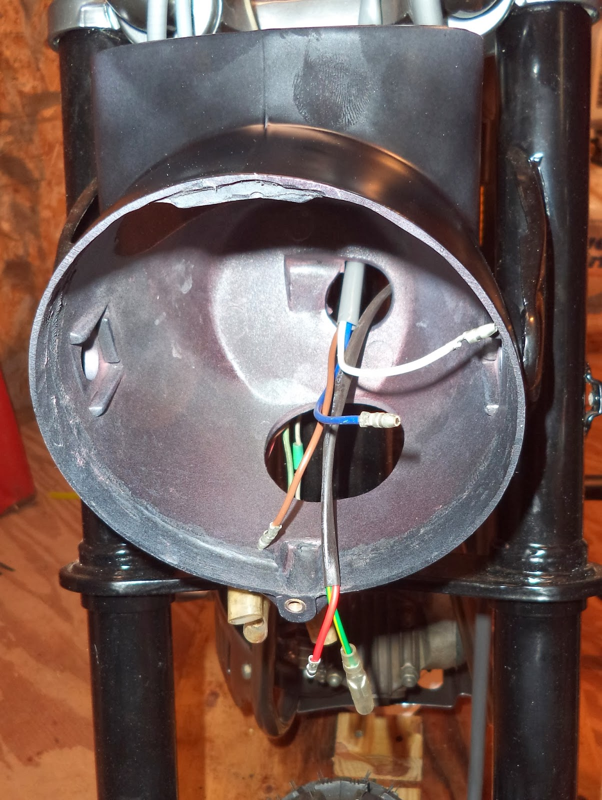 honda ct70 headlight wiring [ 1204 x 1600 Pixel ]