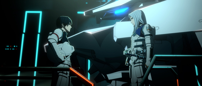 Knights of Sidonia: The Star Where Love is Spun (Sidonia no Kishi: Ai Tsumugu Hoshi) anime film