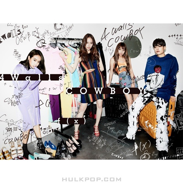 f(x) – 4 Walls / COWBOY (Japanese) – EP (ITUNES PLUS AAC M4A)