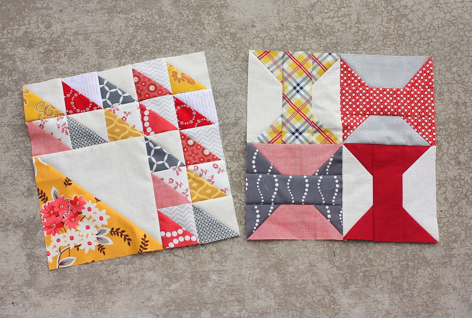 Bee Blocks + Olympic inspiration - Diary of a Quilter - a quilt blog