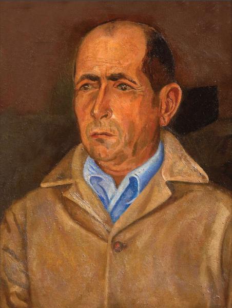 Retrato de Tomás Hernández Franco, Jaime Colson, 1952