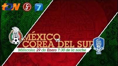 México vs Corea del Sur en Vivo