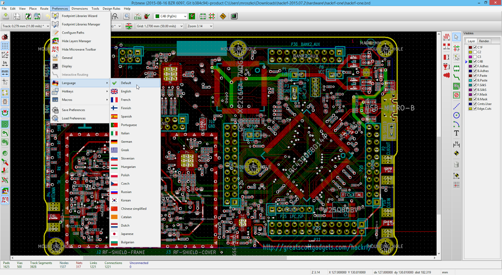 Download Good and (probably) Free Software: Download KiCad 4.0.1 PCB ...