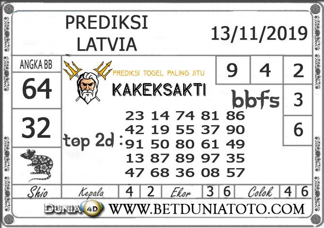 "Prediksi Togel ""LATVIA"" DUNIA4D 13 NOVEMBER 2019"