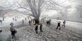 Shimla Manali Snowfall