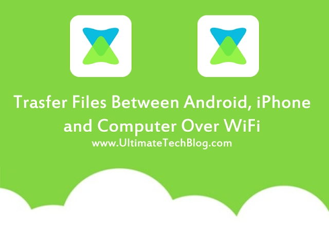 Transfer Files between Phone and PC over WiFi