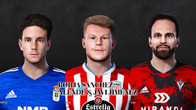 PES 2021 Facepack La Liga SmartBank Vol 16 by Dani