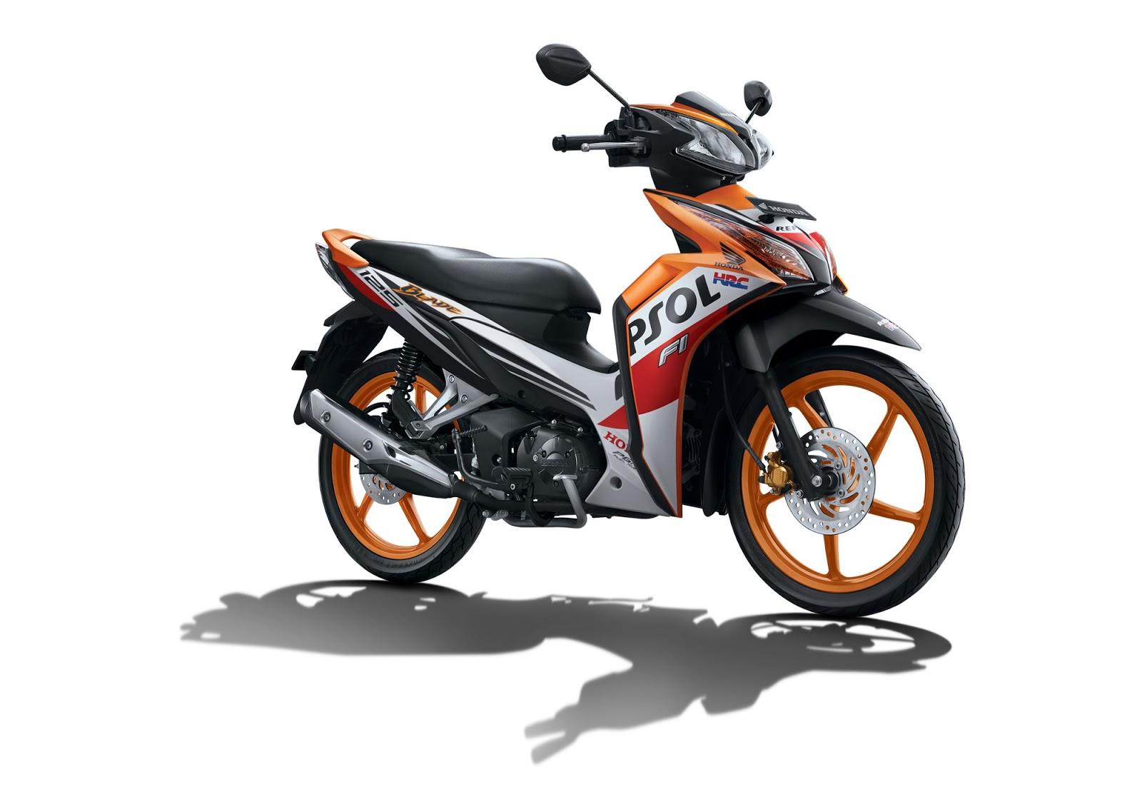 Kumpulan Sepeda Motor Honda Terbaru Keluaran Tahun 2016
