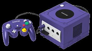 Consola GameCube azul de Nintendo. El mando -con cable- fue revolucionario y sigue siendo muy funcional hoy en día