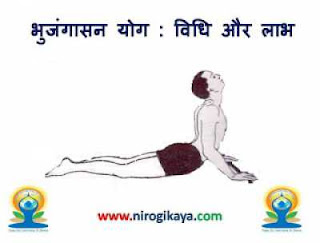 Bhujangasan Yoga benefits in Hindi