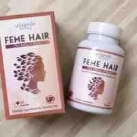 حبوب فيتامين فيمي هير feme hair من امازون و تجارب