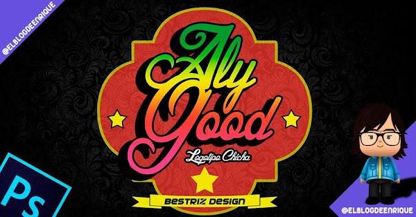 Tutorial photoshop: Logotipo colorido con tipografia estilo chicha por Beatriz Design