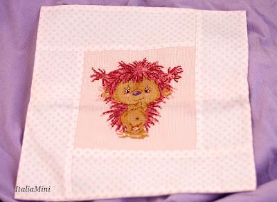 Poduszka- haft krzyżykowy