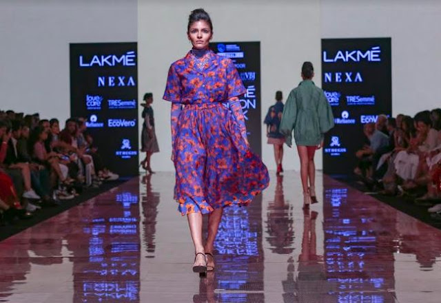 Vummidi Bangaru Jewellers' brand-new collection, 'The Ginkgo Leaf' collection previewed at the Lakme Fashion Week