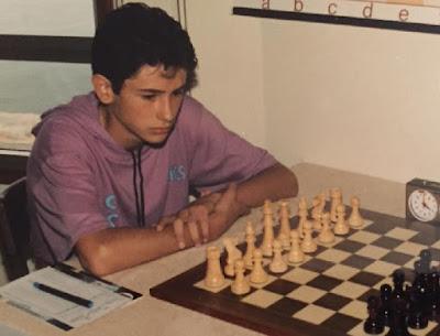 El ajedrecista Jordi de la Riva Aguado
